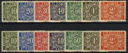 """TX 49/55A ** - Nieuw Type """"Bevrijding"""" - Nouveau Type """"Libération"""" - Volledige Reeks Van 14w. - Stamps"""