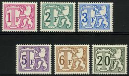 TX 66A/72 A - Groot Waardecijfer - 6w. - DOF Papier - Papier TERNE - Stamps