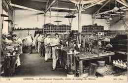 CPA CORBEIL Etabl. Decauville Atelier De Montage Des Moteurs INDUSTRY (809952) - Corbeil Essonnes
