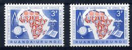 Ruanda-Urundi - 217/18 - MNH - 1948-61: Mint/hinged