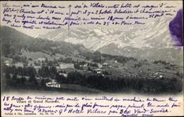 CPA Villars Sur Ollon Kt. Waadt, Grand Muveran - VD Vaud