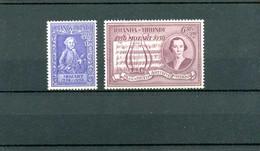 Ruanda Urundi  COB 200/01  ** MNH - 1948-61: Mint/hinged