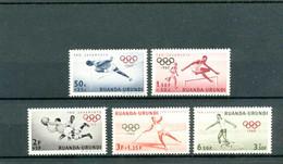Ruanda Urundi  COB 219/23  ** MNH - 1948-61: Mint/hinged