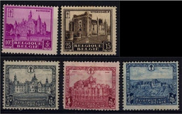 1930 - Nr 308-309 & 311-313 * (308 Without Gum) - Ongebruikt