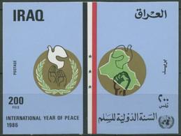 Irak 1986 Int. Jahr Des Friedens, Friedenstaube Block 51 Postfrisch (C10421) - Irak