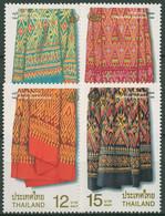 Thailand 1999 Kulturerbe Muster Von Seidenstoffen 1914/17 Postfrisch - Thailand