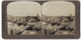 Stereo-Fotografie Griffith & Griffith, Philadelphia, Ansicht Jerusalem, Blick Auf Palestina Vom Damascus Gate - Stereoscopic