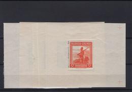 Ruanda-Urundi BL1/4 - MH, Scharnier Op Blok, Zegels MNH - 1924-44: Mint/hinged