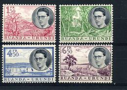 Ruanda-Urundi - 196/99  MH - 1948-61: Mint/hinged