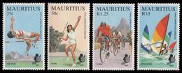 Mauritius 1985 - Mi-Nr. 605-608 ** - MNH - Sport - Mauricio (1968-...)