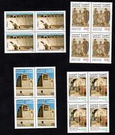 2002 - Tunisie - Sites Et Monuments Archéologiques De Tunisie - Architecture - Mosaïques- Bloc De 4- Série 4v MNH** - Archéologie