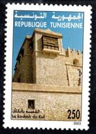 2002 - Tunisie - Sites Et Monuments Archéologiques De Tunisie - Architecture - La Kasba Du Kef - 1v MNH** - Archéologie