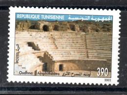 2002 - Tunisie - Sites Et Monuments Archéologiques De Tunisie - Architecture - Site De Oudhna - 1v MNH** - Archéologie
