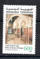 2002 - Tunisie - Sites Et Monuments Archéologiques De Tunisie - Architecture- Palais Du Baron D'Erlanger- 1v MNH** - Archéologie
