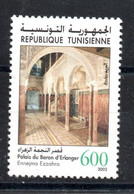 2002 - Tunisia - Archaelogical Sites And Monuments- Architecture - The Baron D'Erlanger Palace (Ennejma Ezzahra) - MNH** - Archéologie