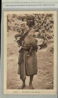 Afrique GABON  Jeune Femme UNE MANAN  ET SES JUMEAUX - (Mai 2021 79) - Gabon