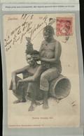 TANZANIE - ZANZIBAR : Natives Dressing Hair (Obliteration ANNA 1904 )- (Mai 2021 85) - Tanzania