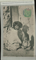MADAGASCAR , TANANARIVE , FEMME ET ENFANT (Timbre R F  Madagascar Et Dépendances  (Mai 2021 101) - Madagascar