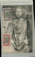 MADAGASCAR  Femme Antanosy  (Timbres  R F  Madagascar Et Dépendances  Errinophilie (Mai 2021 103 - Madagascar