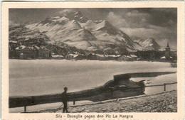 41kth 511 A/K SILS - BASEGLIA GEGEN DEN PIZ LA MARGNA - GR Graubünden