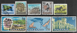 Tanzania  1965  8 Diff Used To The 10sh   2016 Scott Value $8.55 - Tanzania (1964-...)