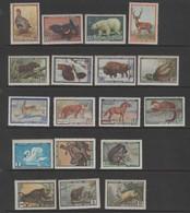 Russia  1961 Fauna. Mint Never Hinged, Rust, Mammals - Non Classés