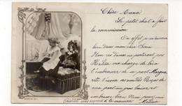 Fillette Et Sa Poupée - 1902 (X181) - Scene & Paesaggi