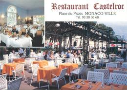 "/ CPSM MONACO ""Restaurant Castelroc"" - Bars & Restaurants"
