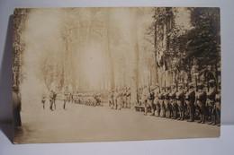SAINT-DIE   -  MILITARIA - Prise D'Armes  - Photo-carte Postée  Le 11/08/1918 - Saint Die