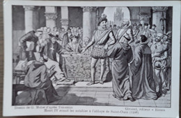 Henri IV Réunit Les Notables A L'abbaye De Saint-Ouen (1596) Dessin De G.Moise D'après Toussaint - Sonstige