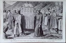 Les Reliques De Saint-Ouen Sont Rapportées En Grande Pompe A Rouen (918) Dessin De G.Moise - Sonstige