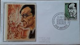 Frans Masereel, Rijkscentrum Frans Masereel Kasterlee 21-10-1972 - Cartas Commemorativas