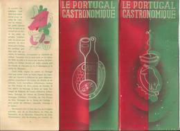 Portugal  Gastronomique - Dépliants Touristiques