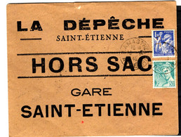 47015 - HORS SAC LA DEPECHE - 1921-1960: Periodo Moderno