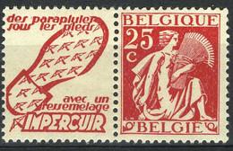 België PU65 * - Impercuir (zoolleder) - Advertising