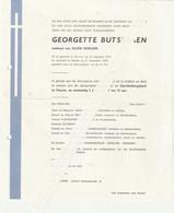 Veurne, Sijsele, Georgette Butseraen, Morlion - Images Religieuses
