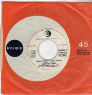 LUCIO BATTISTI RARO 45 PROMO JB 1969 ACQUA AZZURRA, ACQUA CHIARA- RICORDI - Altri - Musica Italiana