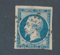 FRANCE - N°15 OBLITERE ETOILE DE PARIS - 1853 - COTE MINI : 290€ - 1853-1860 Napoléon III