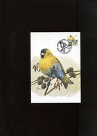 Belgie 2665 Maximumkaart Buzin Birds Bruxelles - 1991-2000