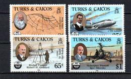 T1-23 Turks & Caicos N° 713 à 716 **  A Saisir !!!  Avions - Turks And Caicos