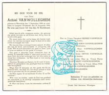 DP Achiel VanWolleghem ° Moorslede BE 1898 † Langeais FR Indre-et-Loire 1944 / Deprez Soen Devos Craynest Callewaert - Devotion Images
