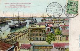 Spanish Transports - Hispano American War - Transports Espagnols PORT SAID En 1898 - Port-Saïd