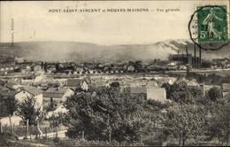 CPA Pont Saint Vincent Et Neuves Maisons Meurthe Et Moselle, Vue Generale - Altri Comuni