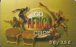 TARJETA PREPAGO AFRICA BANDERAS - Unclassified