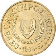 Monnaie, Chypre, 5 Cents, 1983, TTB, Nickel-brass, KM:55.3 - Cyprus