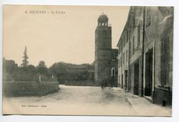 83 MEOUNES Rue De L'Eglise Enfant Au Cerceau 1920   D25 2018 - Autres Communes