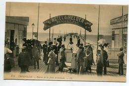 14 TROUVILLE  Entrée De La Jetée Promenade HOTEL Du Helder Benazet  Propriétaire  1920  D11  2021 - Trouville