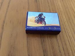Boîte D'allumettes SEITA UNE ALLUMETTE POUR CHAQUE USAGE - LE DEFI BLEU - Série DAKAR 98 N°3/10 (moto) - Matchboxes
