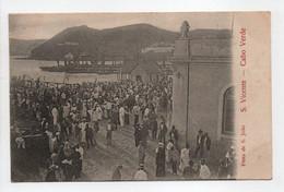 - CPA CABO VERDE (CAP VERT) - Festa De S. Joao S. Vicente 1905 (belle Animation) - - Cape Verde