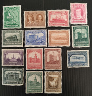 Canada- Newfoundland, 1928 , SG 164-178, Full Set,  MN/* - 1908-1947